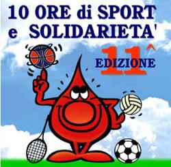 10 ore di sport e solidarietà