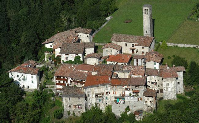 Borgo del Cornello dei Tasso Via Mercatorum