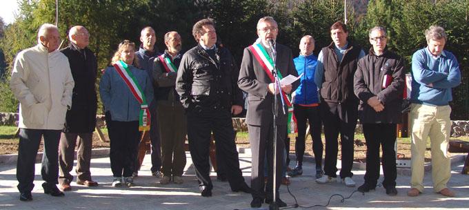 Inaugurazione Pista Ciclabile Valle Brembana