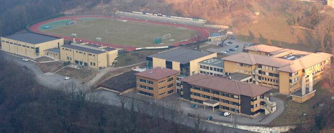 centro sportivo comunale di Camanghè