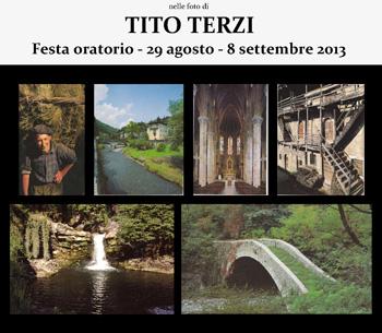 locandina Mostra Fotografica TITO TERZI-BREMBILLA
