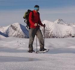 ciaspolando sulle Alpi Orobie
